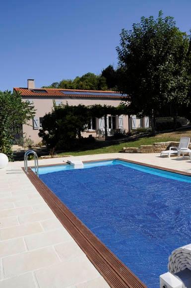 Cubierta de piscina gre cubierta verano piscina madera ref - Piscina gre leroy merlin ...