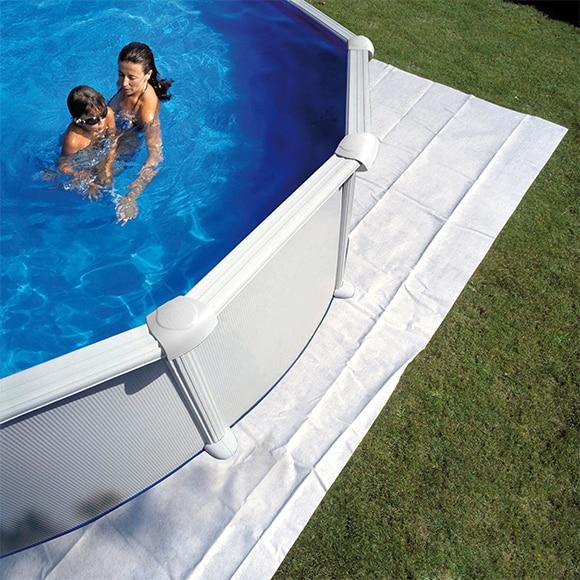 Manta de piscina manta protectora de suelo ref 14227640 - Protector de suelo ...