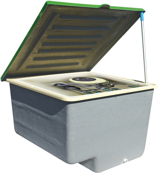 Depuradora de piscina qp bomba en caseta enterrada ref for Depuradoras de piscinas