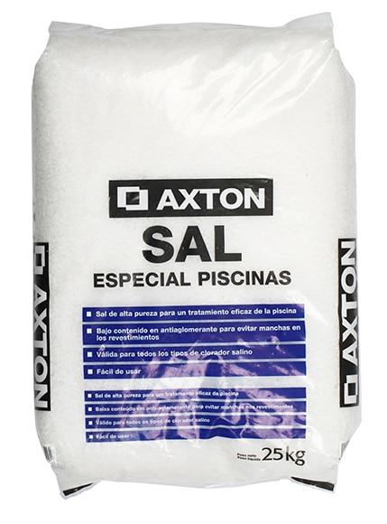 Sal granulada axton sal granulada 25 kg ref 16378341 - Sal para piscinas ...