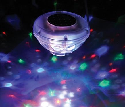 Gre Lámpara flotante para piscina fantasía 8 leds