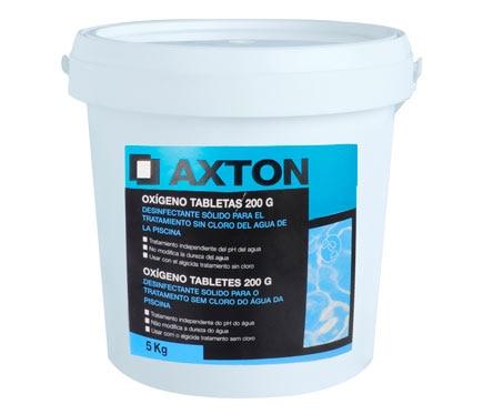 Ox geno activo axton pastillas 5 kg ref 14185311 leroy for Oxigeno activo piscinas