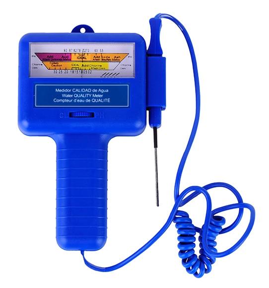 Analizador de cloro y ph gre anal gico ref 15710254 for Bordes de piscinas leroy merlin