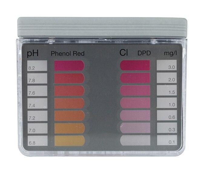 analizador de cloro y ph quimicamp pooltester ref 698873 leroy merlin. Black Bedroom Furniture Sets. Home Design Ideas