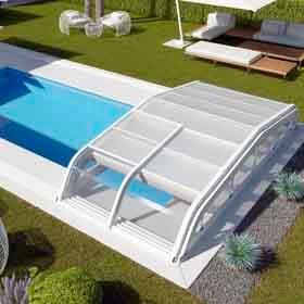 Cubiertas r gidas de piscina leroy merlin for Piscinas desmontables rigidas