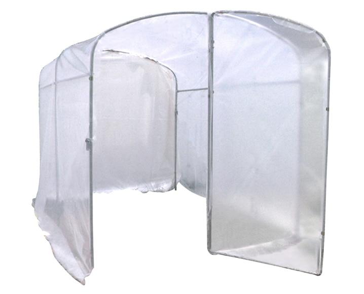 Invernadero blanco sin baldas superficie 6 m2 ref - Invernaderos leroy merlin ...