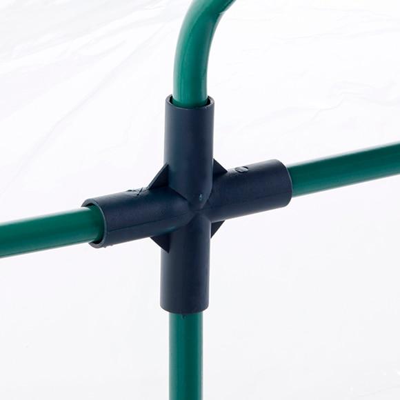Invernadero pvc 60 x 60 x 120 cm alto x ancho x fondo - Invernaderos leroy merlin ...