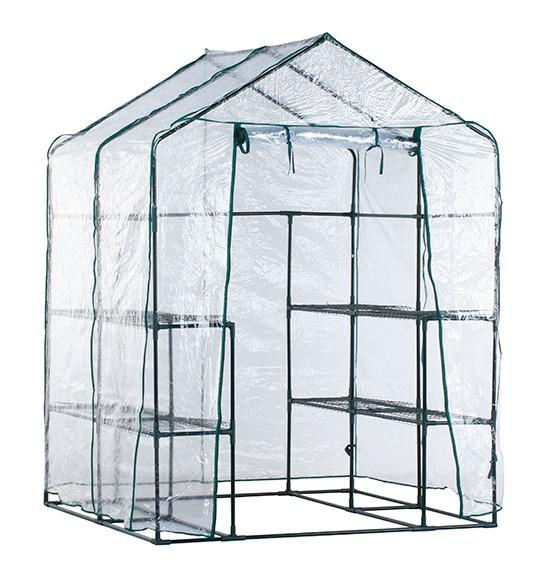 Invernadero con estantes pvc 195 x 143 x 143 cm alto x - Invernadero leroy merlin ...