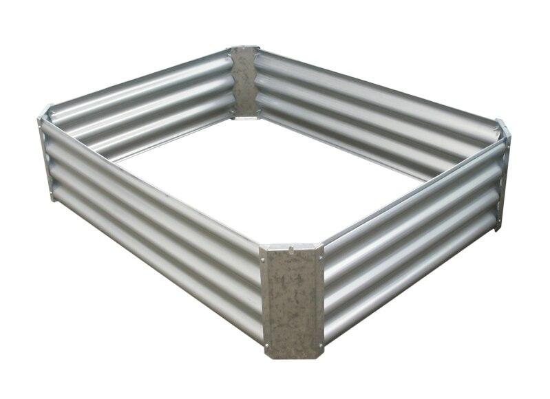 Cama invernadero galvanizada blanco 30 x 90 x 120 cm alto for Sofa cama 120 ancho