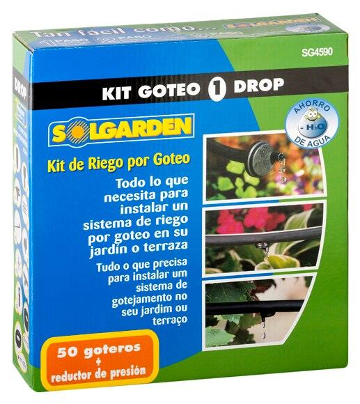 Kit de riego por goteo ref 15133874 leroy merlin - Kit de riego por goteo ...