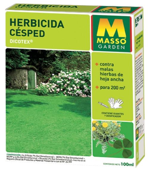Herbicida mass selectivo c sped 100 ml ref 12135004 for Hongos en el cesped jardin