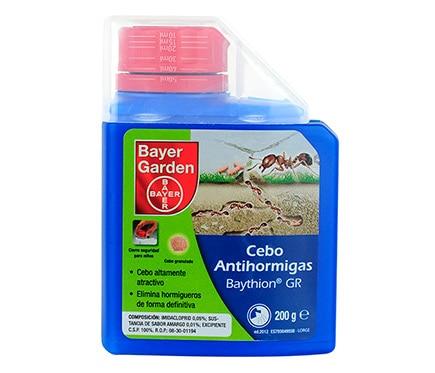 Cebo antihormigas bayer garden granulado 200g ref for Bayer garden