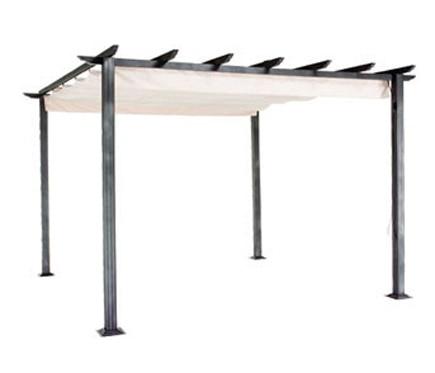 P rgola de aluminio excelence 4x3 ref 13687856 leroy merlin - Pergolas de aluminio para jardin ...
