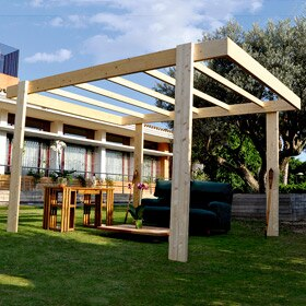 P rgolas de madera leroy merlin - Pergolas jardin baratas ...