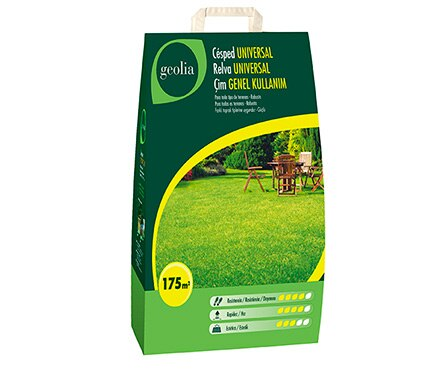 Semilla de c sped geolia c sped universal geolia ref for Semillas leroy merlin