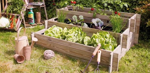 huertos urbanos y mesas de cultivo