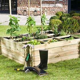 Huertos urbanos y mesas de cultivo leroy merlin - Huerto leroy merlin ...