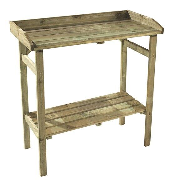 Mesa de huerto de madera flora ref 16133040 leroy merlin - Huerto leroy merlin ...