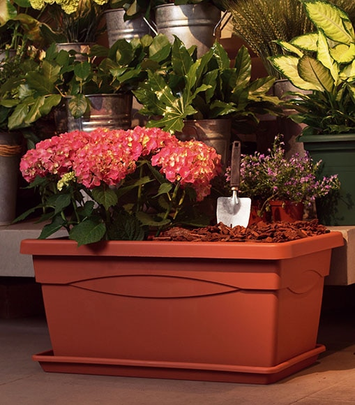 Jardinera salzburgo marr n terracota jardinera salzburgo marr n terracota ref 011502 - Jardineras de terracota ...