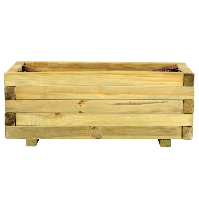 Jardinera jardinera de madera baroque ref 16137646 Madera leroy merlin