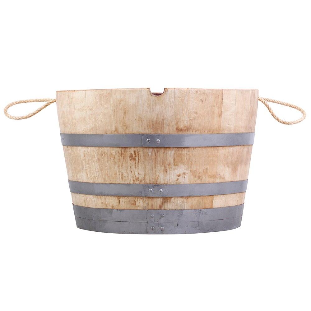 Maceta maceta de madera logro o rustic ref 16134076 - Macetas madera exterior ...