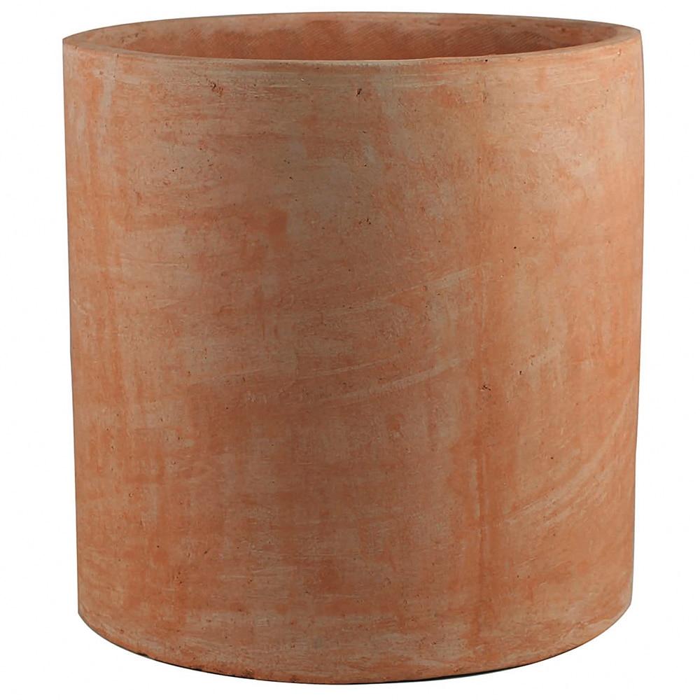 Maceta de barro strict cilindro ref 14720020 leroy merlin for Tejas de plastico leroy merlin