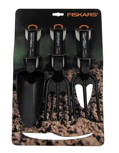 Set 3 herramientas fiskars jard n ref 17268475 leroy merlin - Leroy merlin herramientas jardin ...