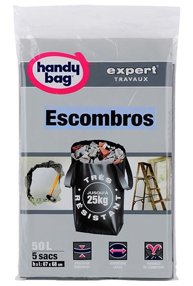 Bolsas para escombros 50 l pl stico ref 15963941 leroy - Bolsas para escombros ...