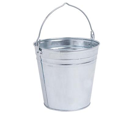 Cubo 10 l acero galvanizado ref 16273005 leroy merlin - Cubos de basura leroy merlin ...