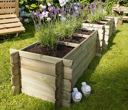 Huerto de suelo nikolo ref 16133061 leroy merlin for Casas de madera jardin leroy merlin