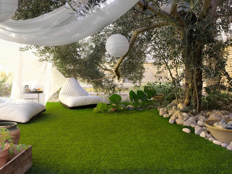 Diy para tu jardin 7 ideas ingeniosas comunidad leroy for Jardines pequenos redondos