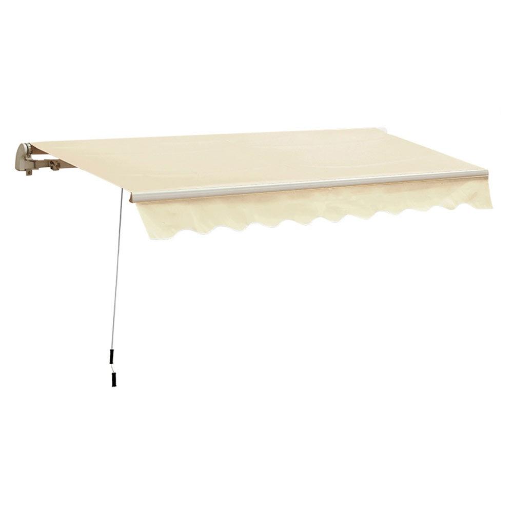 Toldo clasico estructura blanca manual ref 16635402 for Estructura de toldo