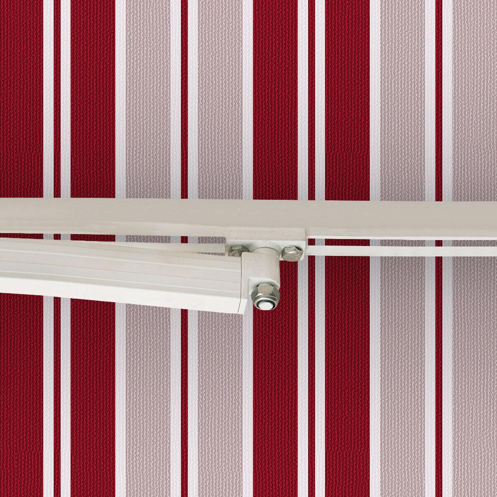 Toldo clasico estructura blanca manual ref 16635423 - Toldo corredero leroy merlin ...