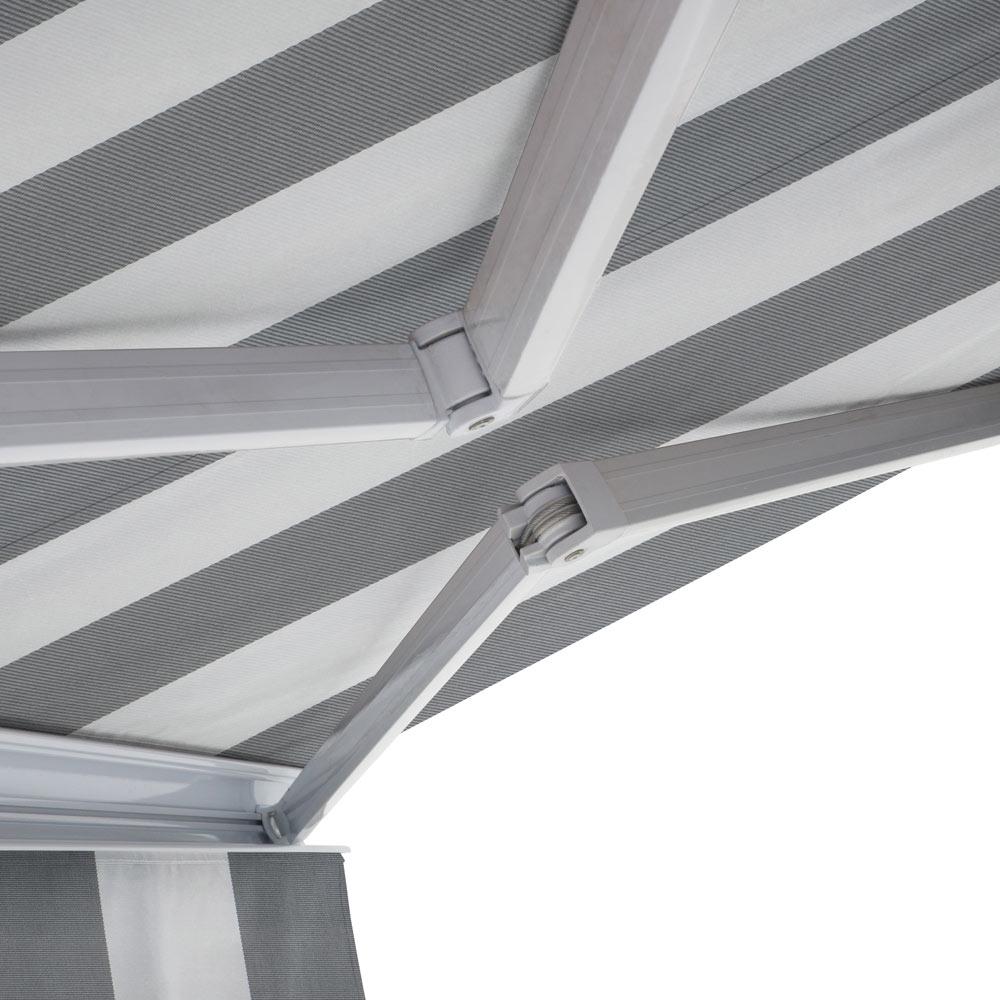Toldo Kronos Cofre Estructura Blanca Manual Ref 01190118758103