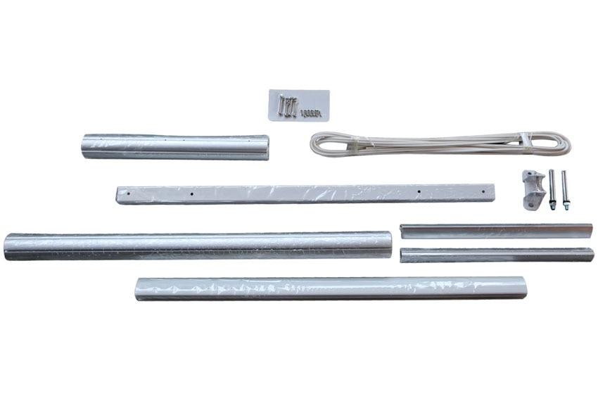 Extensi n para toldo de 1 metro kronos ref 17874724 for Tubos de aluminio para toldos