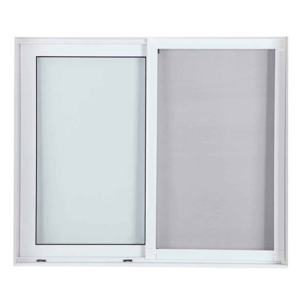 Mosquitera corredera ventana ref 17011820 leroy merlin for Instalar mosquitera corredera