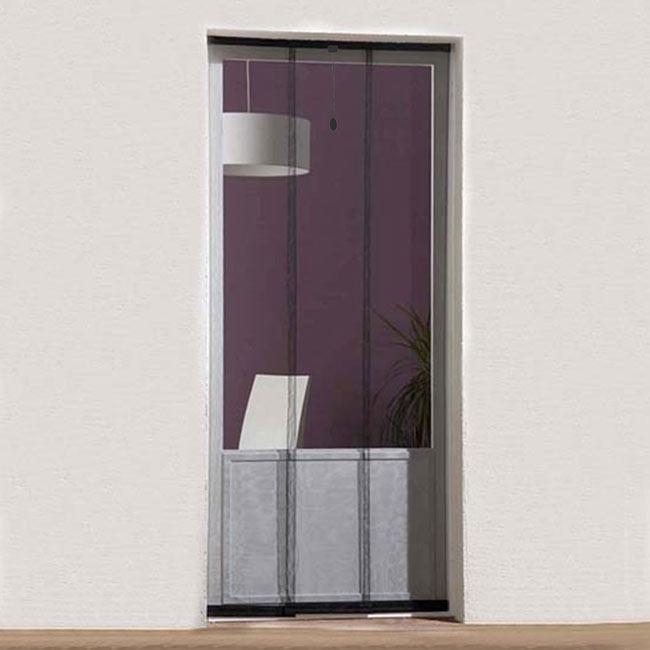 Mosquitera cortina puerta basic ref 16696743 leroy merlin for Iman adhesivo leroy merlin
