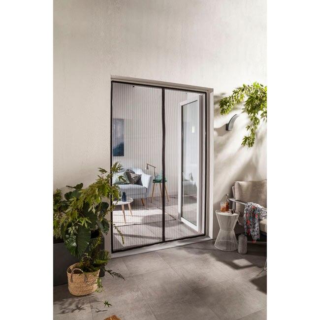 Mosquitera artens cortina puerta magn tica ref 19370071 - Cortina puerta leroy merlin ...