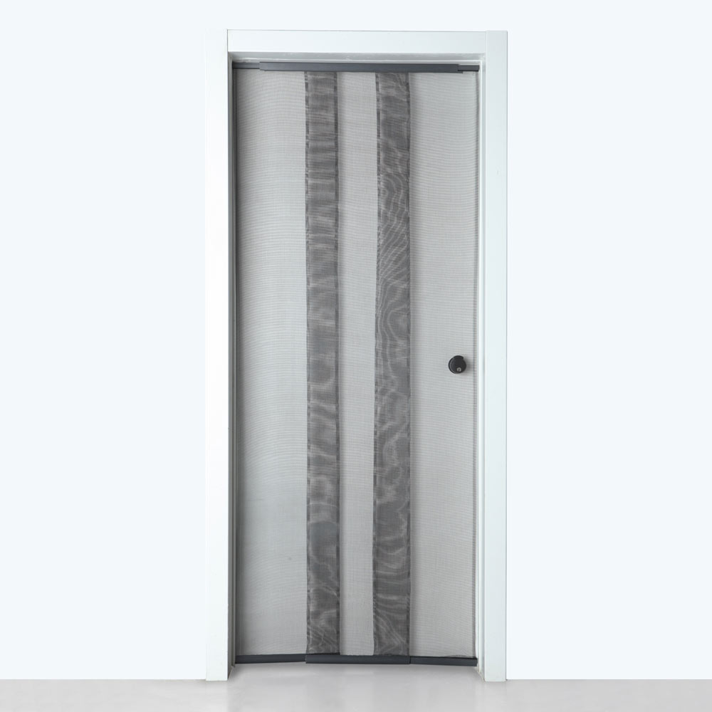 cortina puerta telescopica leroy merlin On cortina mosquitera puerta
