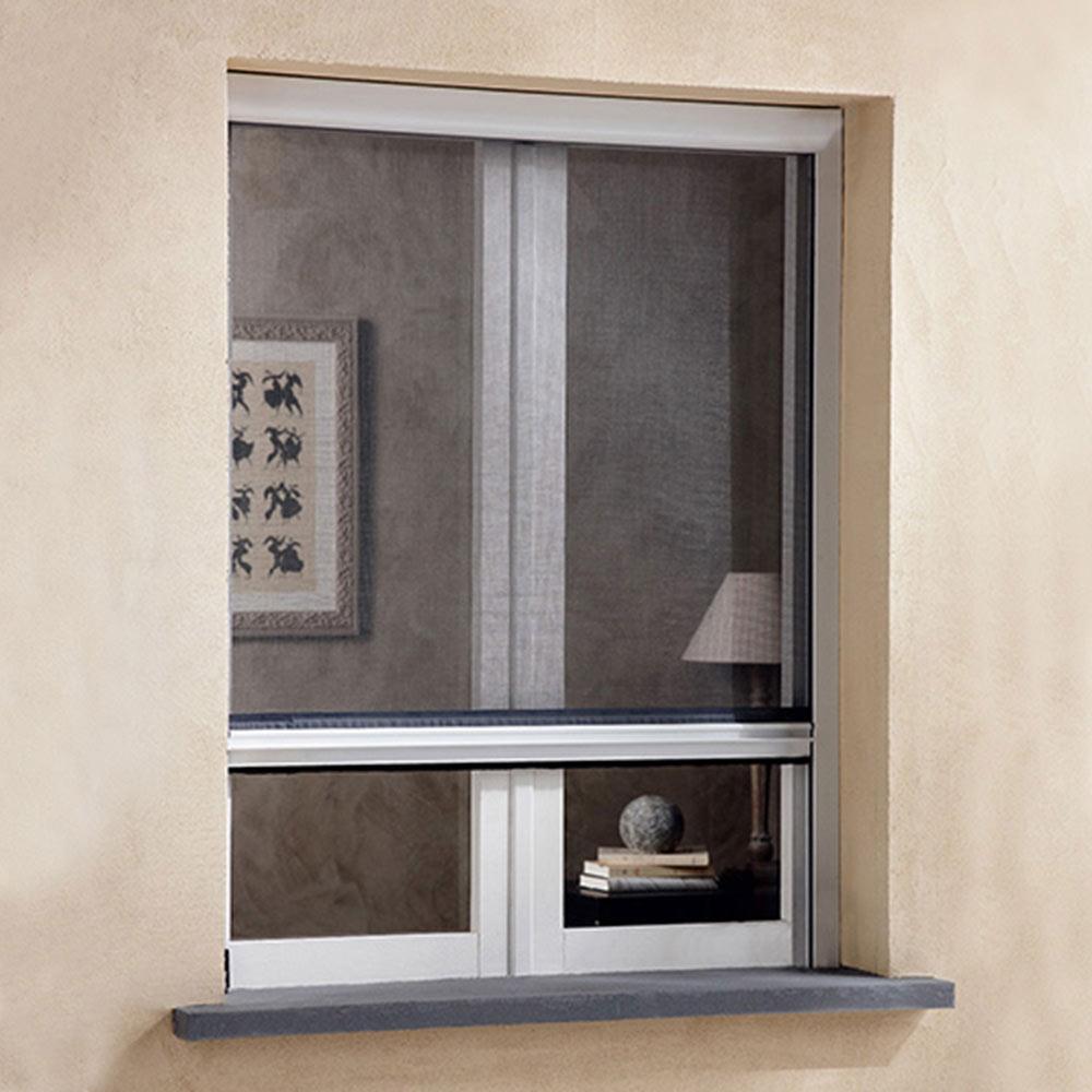 Mosquitera enrollable vertical ventana ref 15776663 - Leroy merlin jardin vertical besancon ...