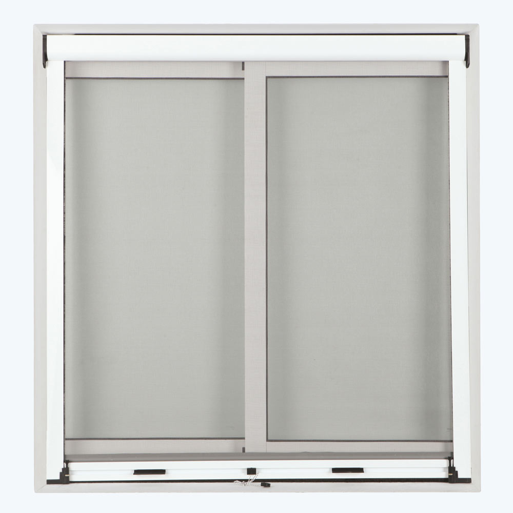 Mosquitera enrollable vertical ventana ref 15776852 for Mosquiteras leroy merlin instalacion
