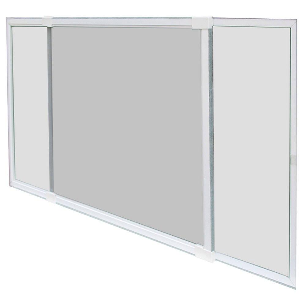 Mosquitera extensible ventana en kit ref 81873716 leroy for Mosquiteras leroy merlin instalacion