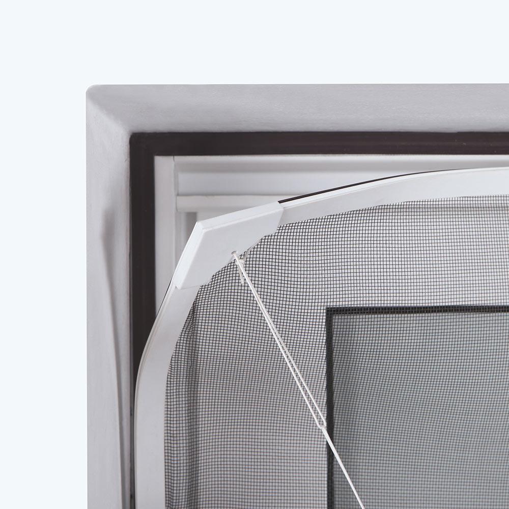 Mosquitera FIJA PVC FLEXIBLE MAGNÉTICA Ref. 17143175 - Leroy Merlin