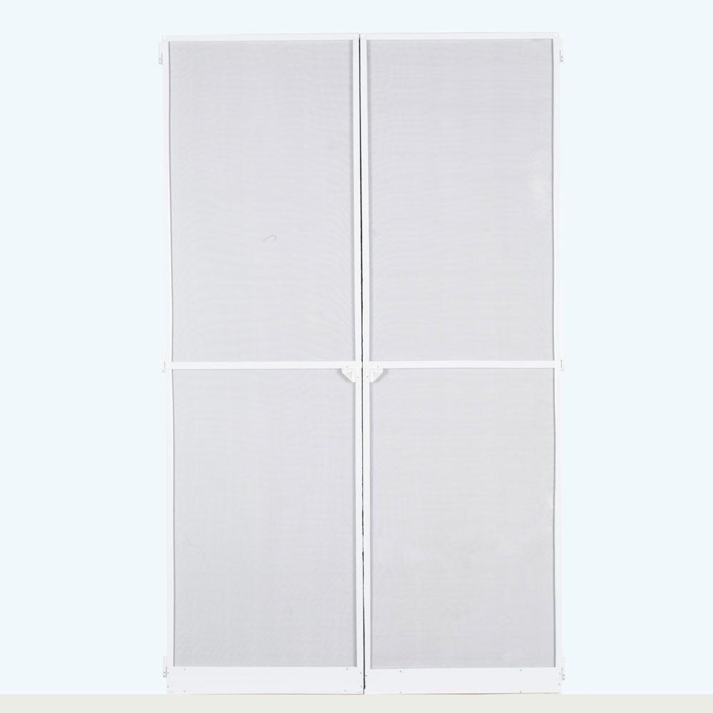 Mosquitera aluminio puerta abatible ref 16696750 leroy - Puertas correderas jardin leroy merlin ...