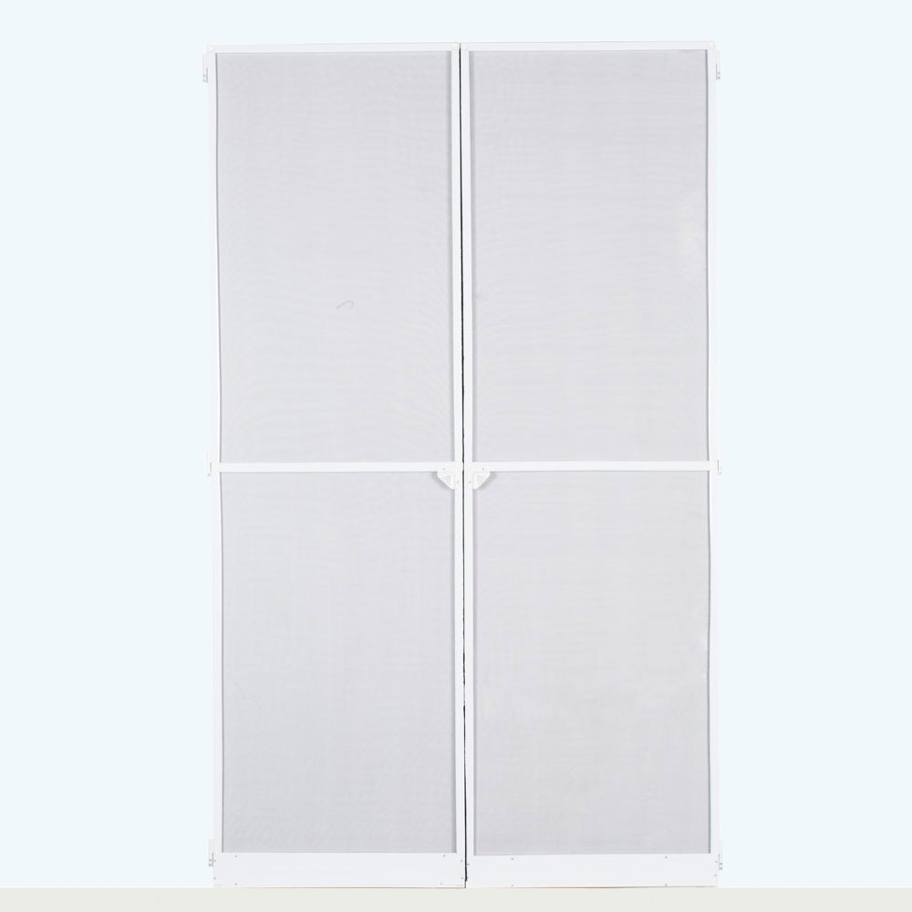 Mosquitera aluminio puerta abatible ref 16696750 leroy for Tapajuntas puertas leroy merlin