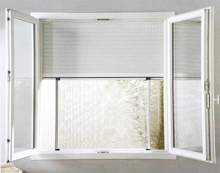 Mosquitera extensible extensible para ventana y balconera - Tendedero extensible leroy merlin ...