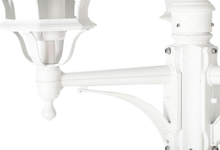 Farola 3 luces brilliant istria blanco ref 17471902 - Luces solares leroy merlin ...