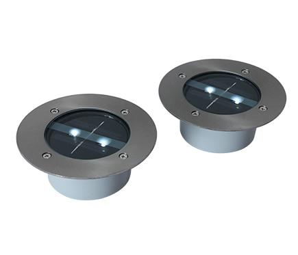 Pack de 2 focos solares inspire grenada led ref 16071062 - Focos led solares ...