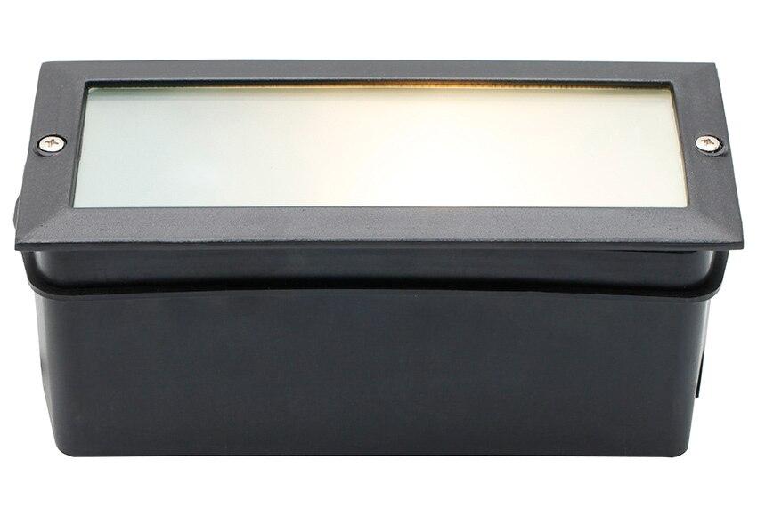 Foco inspire rectangular ref 16701223 leroy merlin - Focos para exterior jardin ...