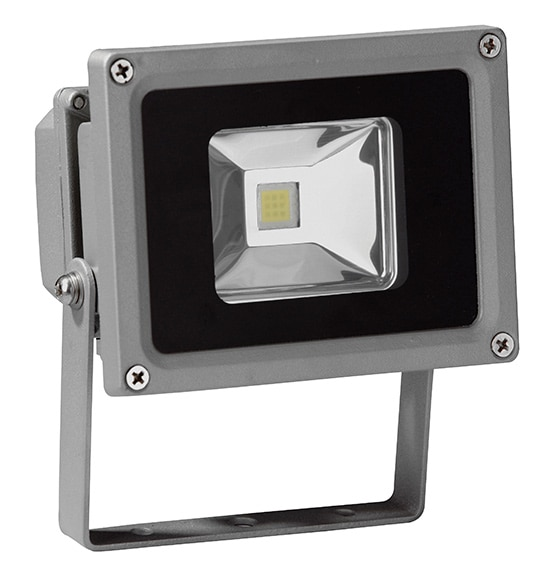 Proyector fijo inspire yonkers led ref 16592632 leroy for Focos led exterior leroy merlin